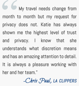Chris Paul Zlife Management Testimonial